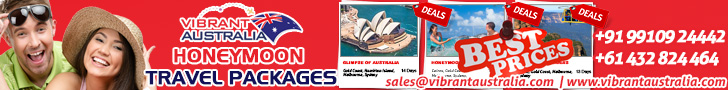Australia Honeymoon Packages from Delhi